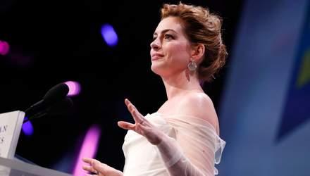 Енн Гетевей отримала премію за боротьбу з гендерною дискримінацією
