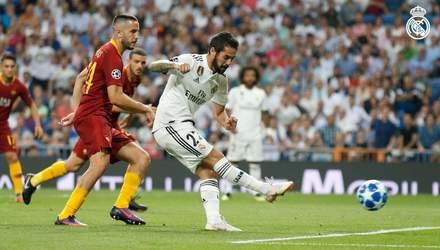 Реал – Рома: відео голів та моментів матчу