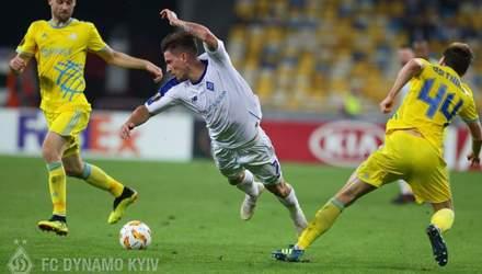 Динамо – Астана: результат и обзор матча Лиги Европы