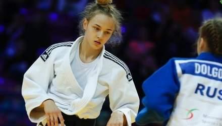 17-річна українка впевнено пройшла в півфінал дорослого чемпіонату світу з дзюдо