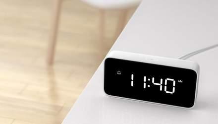 Xiaomi представила умный будильник, который поможет уснуть