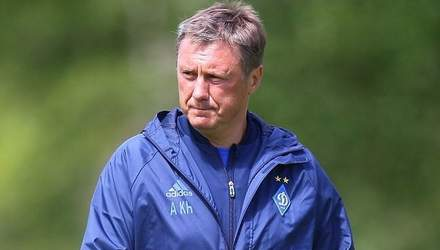 Хацкевич розповів, чи піде у відставку після невдачі у матчі Ліги Європи
