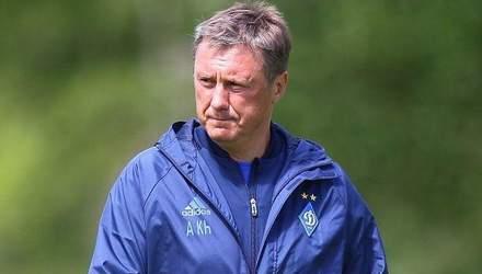 Хацкевич рассказал, уйдет ли в отставку после неудачи в матче Лиги Европы