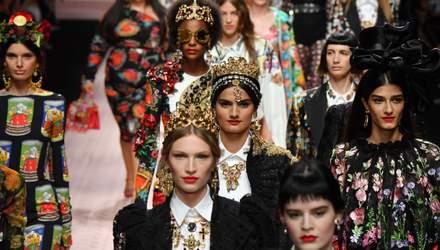 Моніка Беллуччі, мама Ілона Маска, Кітті Спенсер, Карла Бруні: як пройшов показ  Dolce & Gabbana