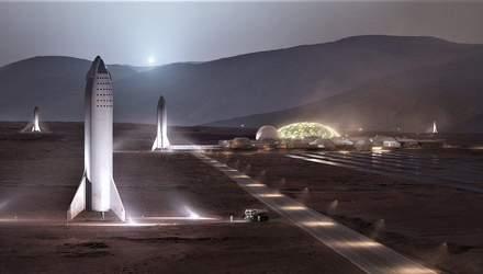 Як виглядатиме колонізація Марсу – Ілон Маск оприлюднив прототип