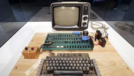 На аукціоні продали перший комп'ютер Apple: фото і можливості пристрою