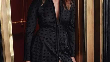 Українська зірка Ольга Куриленко відвідала показ Dior в елегантному вбранні