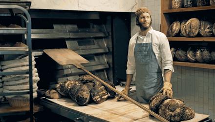 Чад Робертсон – пекарь, который удивил своей выпечкой