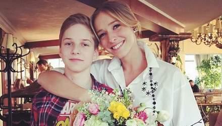 Катя Осадчая поздравила с 16-летием своего старшего сына: трогательное фото из архива