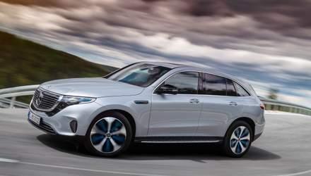 """Mercedes-Benz EQC – первый электрический кроссовер бренда и шаг в """"новую эру мобильности"""""""