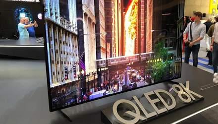 Первый QLED-телевизор с 8K от Samsung уже можно купить: цена просто шокирует