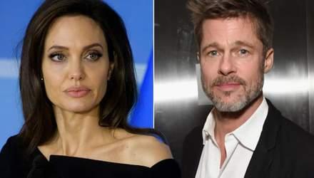 Жодного перемир'я: Бред Пітт та Анджеліна Джолі переживають нову суперечку