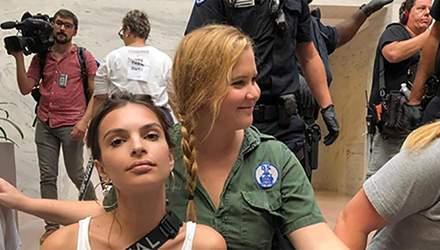 Модель Эмили Ратаковски арестовали в Вашингтоне: неожиданная причина