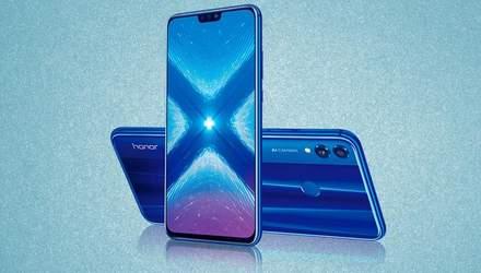 Скільки смартфон Honor 8X буде коштувати в Україні