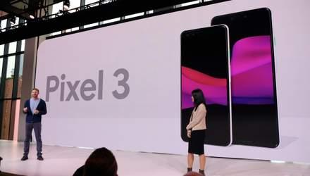 Смартфоны Google Pixel 3 и Google Pixel 3 XL представили официально: характеристики и цена