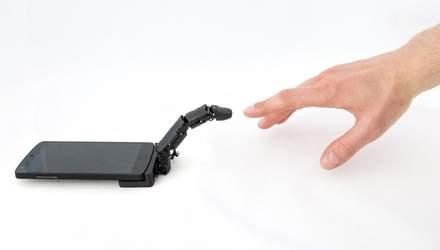 Представили роботизированный палец MobiLimb, который получил очень нестандартный набор функций