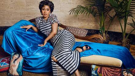 Cardi B стала звездой арт-выпуска модного глянца: изысканные фото