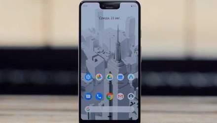 Смартфон Google Pixel 3 XL очолив популярний рейтинг