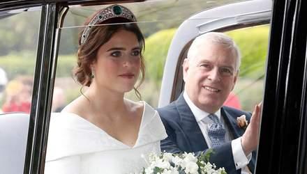 Появились первые фото принцессы Евгении в свадебном наряде
