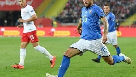Італія на останніх хвилинах матчу перемогла Польщу в Лізі націй: відео голів