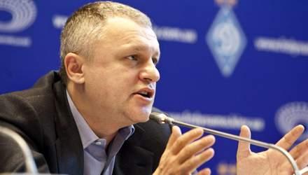 """Суркіс вважає, що ФФУ упереджено ставиться до """"Динамо"""""""