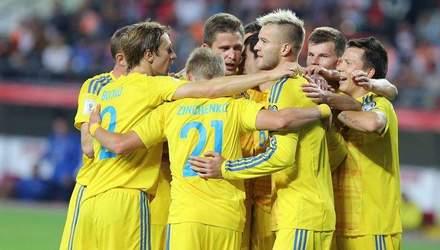 Украина может досрочно обеспечить себе первое место в группе Лиги Наций