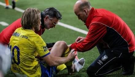 Українець Безус зазнав важкої травми у чемпіонаті Бельгії