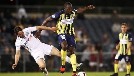 Усейн Болт, який тепер грає у футбол, відмовився виступати за європейський клуб