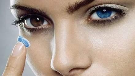 Науковці розробили лінзи для лікування очей