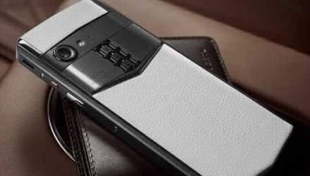 Vertu випустила смартфон за 14 тисяч доларів: характеристики і фото