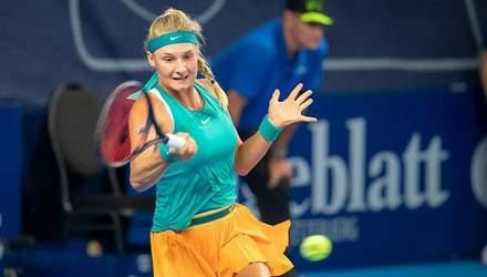 Українська сенсація Ястремська поступилася у напруженому півфіналі турніру серії WTA