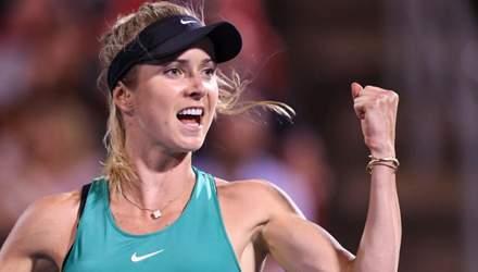 Світоліна з історичної перемоги стартувала на Підсумковому турнірі WTA: відео