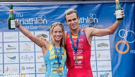 Українка Єлістратова виборола золото на етапі Кубка світу з тріатлону