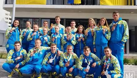 Как встречают украинских юных спортсменов Олимпийских игр: фото