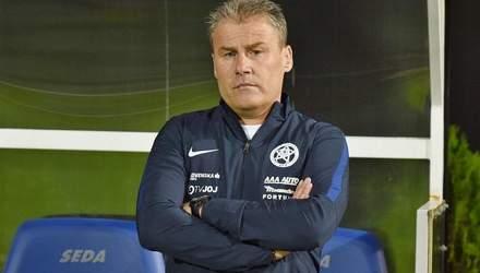 Вже другий суперник України в Лізі націй змінив головного тренера