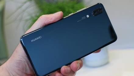 """Смартфон Huawei P20 пережил падение с невероятной высоты и """"выжил"""": фото"""