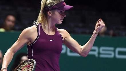 Еліна Світоліна прокоментувала другу перемогу на Підсумковому турнірі WTA