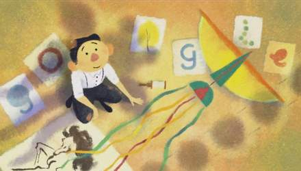 Google присвятив новий дудл художнику Тайрусу Вонгу