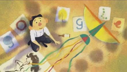 Google посвятил новый дудл художнику Тайрусу Вонгу