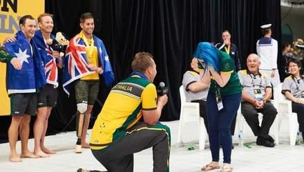 """Австралієць зробив пропозицію дівчині після змагань на """"Іграх нескорених"""": миле відео"""