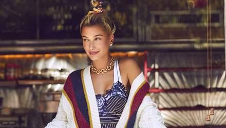 Хейлі Болдуін знялась в яскравих образах для модного глянцю