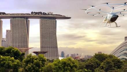 Уже в следующем году начнут тестировать воздушные такси