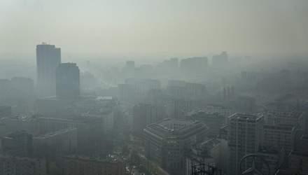 Екологи б'ють на сполох: в Європі виявили значне забруднення повітря