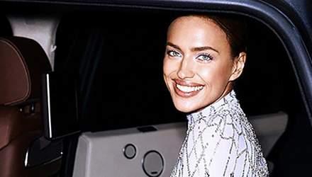 Модель Ирина Шейк засветила роскошное платье на королевском приеме: фото