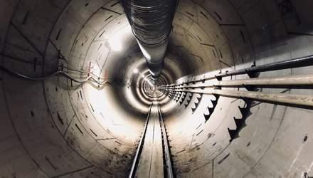 Илон Маск опубликовал видео подземного тоннеля под Лос-Анджелесом