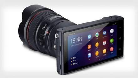 Китайці представили бездзеркальну камеру на Android