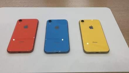 """Apple зменшує виробництво """"бюджетних""""  iPhone Xr"""