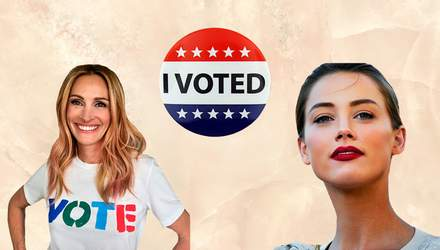 Как голливудские звезды голосовали на выборах Конгресса США: яркая фотоподборка
