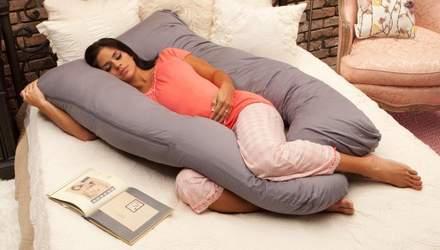 Подушка для вагітних: у чому перевага