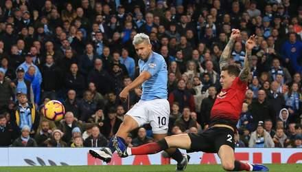 """""""Манчестер Сіті"""" яскраво виграв дербі у """"Манчестер Юнайтед"""": відео голів"""